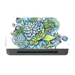 Peaceful Flower Garden 1 Memory Card Reader With Cf by Zandiepants
