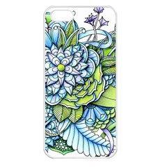 Peaceful Flower Garden 1 Apple Iphone 5 Seamless Case (white) by Zandiepants