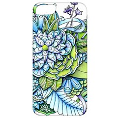 Peaceful Flower Garden 1 Apple Iphone 5 Classic Hardshell Case by Zandiepants