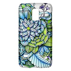 Peaceful Flower Garden 1 Samsung Galaxy S5 Mini Hardshell Case  by Zandiepants