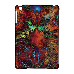 Boho Bohemian Hippie Floral Abstract Apple Ipad Mini Hardshell Case (compatible With Smart Cover) by CrypticFragmentsDesign