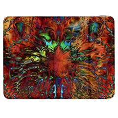 Boho Bohemian Hippie Floral Abstract Samsung Galaxy Tab 7  P1000 Flip Case by CrypticFragmentsDesign