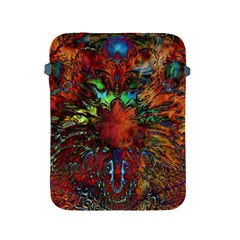 Boho Bohemian Hippie Floral Abstract Apple Ipad 2/3/4 Protective Soft Cases by CrypticFragmentsDesign