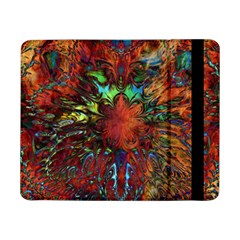 Boho Bohemian Hippie Floral Abstract Samsung Galaxy Tab Pro 8 4  Flip Case by CrypticFragmentsDesign