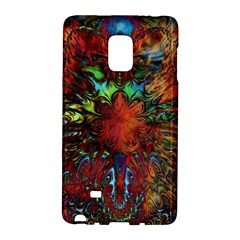 Boho Bohemian Hippie Floral Abstract Galaxy Note Edge by CrypticFragmentsDesign
