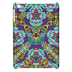 Mariager   Bold Blue,purple And Yellow Flower Design Apple Ipad Mini Hardshell Case by Zandiepants