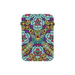 Mariager   Bold Blue,purple And Yellow Flower Design Apple Ipad Mini Protective Soft Case by Zandiepants