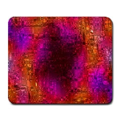 Purple Orange Pink Colorful Large Mousepads by yoursparklingshop