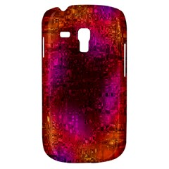 Purple Orange Pink Colorful Samsung Galaxy S3 Mini I8190 Hardshell Case by yoursparklingshop