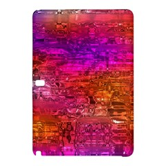 Purple Orange Pink Colorful Art Samsung Galaxy Tab Pro 10 1 Hardshell Case by yoursparklingshop