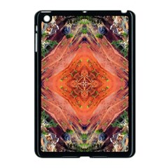 Boho Bohemian Hippie Floral Abstract Faded  Apple Ipad Mini Case (black) by CrypticFragmentsDesign