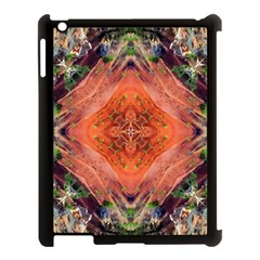 Boho Bohemian Hippie Floral Abstract Faded  Apple Ipad 3/4 Case (black) by CrypticFragmentsDesign