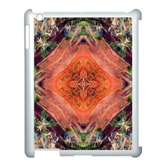 Boho Bohemian Hippie Floral Abstract Faded  Apple Ipad 3/4 Case (white) by CrypticFragmentsDesign