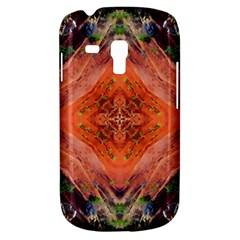 Boho Bohemian Hippie Floral Abstract Faded  Samsung Galaxy S3 Mini I8190 Hardshell Case by CrypticFragmentsDesign