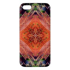 Boho Bohemian Hippie Floral Abstract Faded  Apple Iphone 5 Premium Hardshell Case by CrypticFragmentsDesign