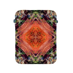 Boho Bohemian Hippie Floral Abstract Faded  Apple Ipad 2/3/4 Protective Soft Cases by CrypticFragmentsDesign