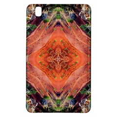 Boho Bohemian Hippie Floral Abstract Faded  Samsung Galaxy Tab Pro 8 4 Hardshell Case by CrypticFragmentsDesign