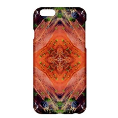 Boho Bohemian Hippie Floral Abstract Faded  Apple Iphone 6 Plus/6s Plus Hardshell Case by CrypticFragmentsDesign