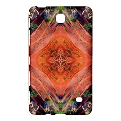 Boho Bohemian Hippie Floral Abstract Faded  Samsung Galaxy Tab 4 (8 ) Hardshell Case  by CrypticFragmentsDesign