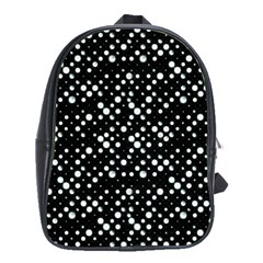 Galaxy Dots School Bags(large)  by dflcprints