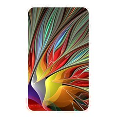 Fractal Bird Of Paradise Memory Card Reader (rectangular) by WolfepawFractals