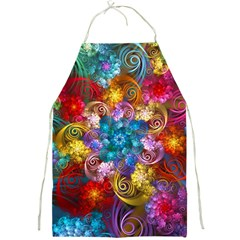 Spirals And Curlicues Full Print Aprons