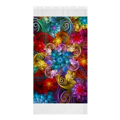 Spirals And Curlicues Shower Curtain 36  X 72  (stall)