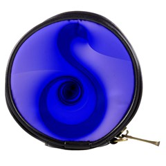 Blue Spiral Note Mini Makeup Bags
