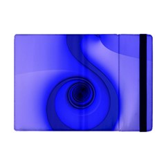 Blue Spiral Note Ipad Mini 2 Flip Cases by CrypticFragmentsDesign