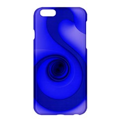 Blue Spiral Note Apple Iphone 6 Plus/6s Plus Hardshell Case by CrypticFragmentsDesign