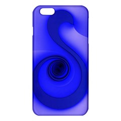 Blue Spiral Note Iphone 6 Plus/6s Plus Tpu Case by CrypticFragmentsDesign