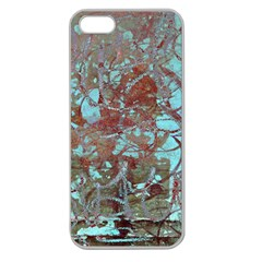 Urban Graffiti Grunge Look Apple Seamless Iphone 5 Case (clear) by CrypticFragmentsDesign