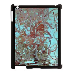 Urban Graffiti Grunge Look Apple Ipad 3/4 Case (black) by CrypticFragmentsDesign
