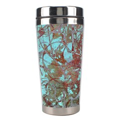 Urban Graffiti Grunge Look Stainless Steel Travel Tumblers by CrypticFragmentsDesign