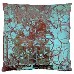 Urban Graffiti Grunge Look Standard Flano Cushion Case (one Side) by CrypticFragmentsDesign