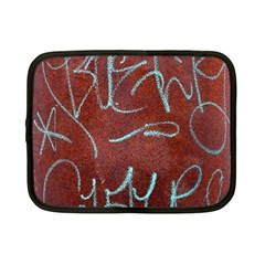 Urban Graffiti Rust Grunge Texture Background Netbook Case (small)  by CrypticFragmentsDesign