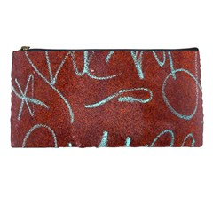 Urban Graffiti Rust Grunge Texture Background Pencil Cases by CrypticFragmentsDesign