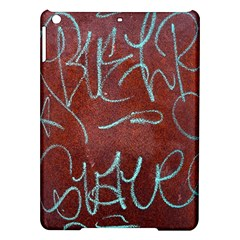 Urban Graffiti Rust Grunge Texture Background Ipad Air Hardshell Cases by CrypticFragmentsDesign