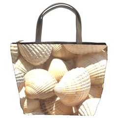 Tropical Exotic Sea Shells Bucket Bags by yoursparklingshop