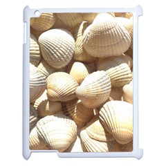 Tropical Exotic Sea Shells Apple Ipad 2 Case (white) by yoursparklingshop