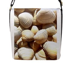 Tropical Exotic Sea Shells Flap Messenger Bag (l)  by yoursparklingshop