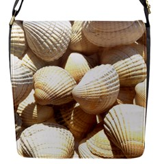 Tropical Exotic Sea Shells Flap Messenger Bag (s) by yoursparklingshop