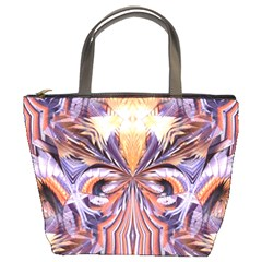 Fire Goddess Abstract Modern Digital Art  Bucket Bags by CrypticFragmentsDesign