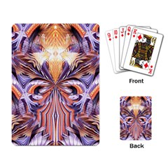 Fire Goddess Abstract Modern Digital Art  Playing Card by CrypticFragmentsDesign