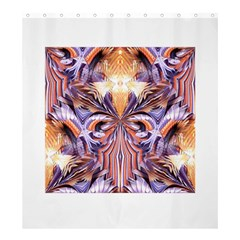 Fire Goddess Abstract Modern Digital Art  Shower Curtain 66  X 72  (large)  by CrypticFragmentsDesign