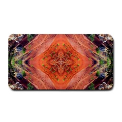 Boho Bohemian Hippie Floral Abstract Faded  Medium Bar Mats by CrypticFragmentsDesign