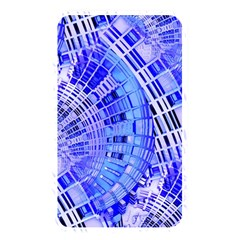 Semi Circles Abstract Geometric Modern Art Blue  Memory Card Reader by CrypticFragmentsDesign