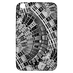 Semi Circles Abstract Geometric Modern Art Samsung Galaxy Tab 3 (8 ) T3100 Hardshell Case  by CrypticFragmentsDesign