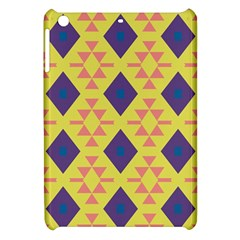 Tribal Shapes And Rhombus Pattern                        			apple Ipad Mini Hardshell Case by LalyLauraFLM