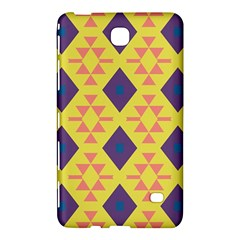 Tribal Shapes And Rhombus Pattern                        			samsung Galaxy Tab 4 (7 ) Hardshell Case by LalyLauraFLM